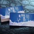 Wizytówki foliowane jednostronne