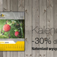 Kalendarze 2015 30% taniej