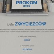 Konkurs PROKOM 2018 – Studiouh zwycięża w kategorii Mistrzowie Druku
