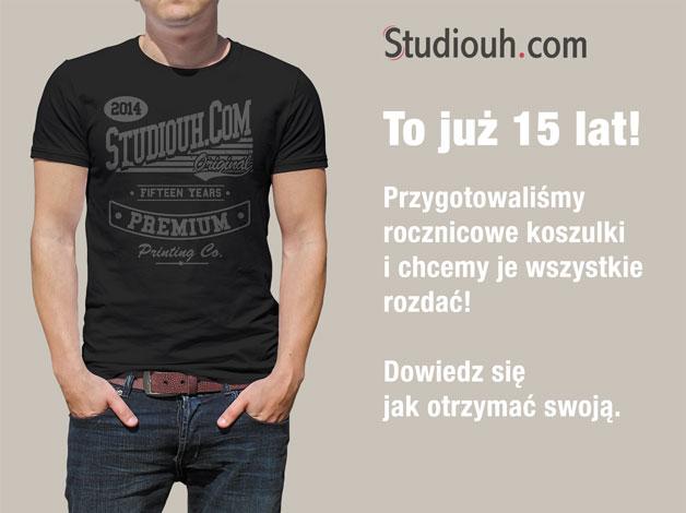 Koszulki na 15 lat Studiouh