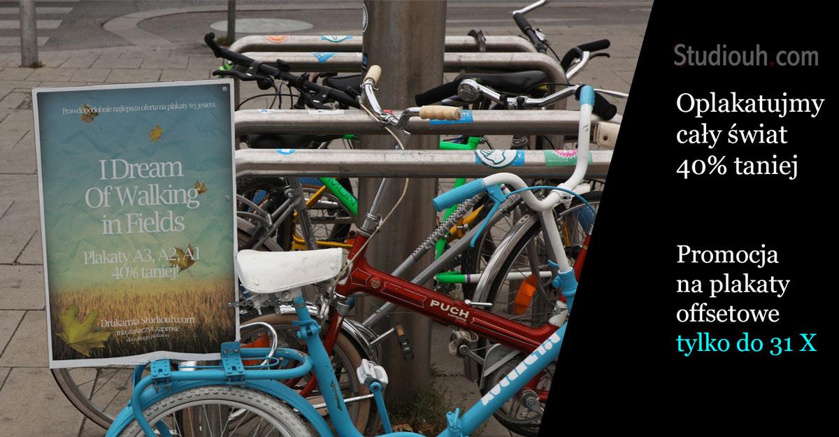 Plakaty 40% taniej w Studiouh.com