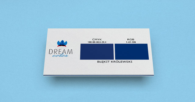 DREAM COLOR błękit królewski w Studiouh.com