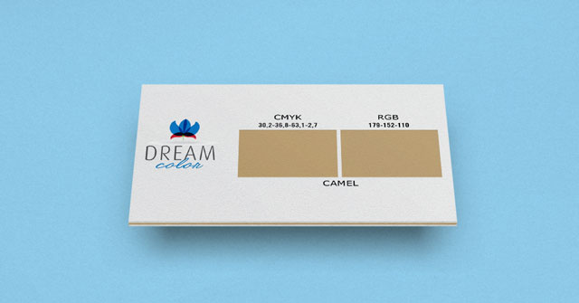 DREAM COLOR camel w Studiouh.com