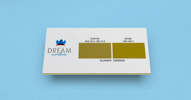 DREAM COLOR sunny green w Studiouh.com