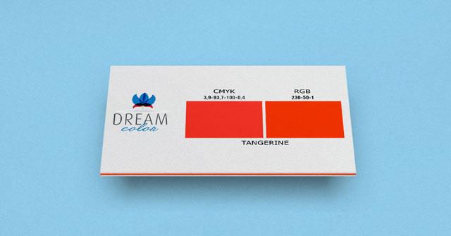 DREAM COLOR tangerine w Studiouh.com