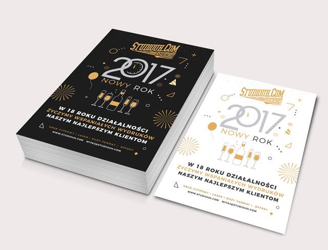 Nowy wspaniałay 2017 rok w Studiouh.com