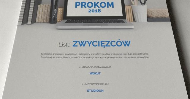 PROKOM 2018 zwycięstwo Studiouh